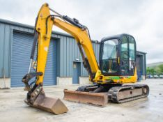 JCB 8055 RTS 5.5 tonne rubber tracked excavator Year: 2014 S/N: 2060738 Recorded Hours: 2689