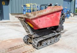 Winget TD500HL 500 kg petrol driven hi-tip rubber tracked pedestrian number A785683