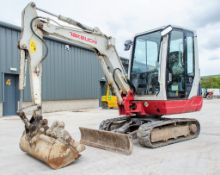 Takeuchi TB228 2.8 tonne rubber tracked mini excavator Year: 2015 S/N: 122804265 Recorded Hours: