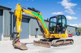 JCB 8065 RTS 6.5 tonne rubber tracked excavator Year: 2013 S/N: 1538590 Recorded Hours: 2556