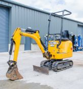 JCB 8008 0.8 tonne rubber tracked micro excavator Year: 2014 S/N: 2410611 Recorded Hours: 1309