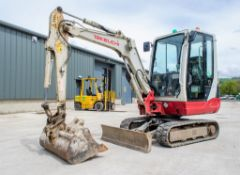 Takeuchi TB228 2.8 tonne rubber tracked mini excavator Year: 2015 S/N: 122804169 Recorded Hours:
