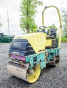 Ammann AV12-2 double drum ride on roller Year: 2006 S/N: 10148 Recorded Hours: Not displayed (