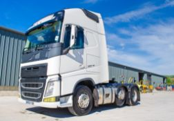 Volvo FH 500 Euro 6 6x2 tractor unit Registration Number: WX65 YGR Date of Registration: 25/09/