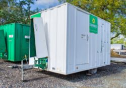 Groundhog 12 ft x 8 ft mobile welfare unit Comprising of: canteen area, toilet & generator room
