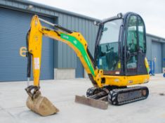 JCB 801.6 1.6 tonne rubber tracked mini excavator Year: 2014 S/N: 2071644 Recorded Hours: 1969
