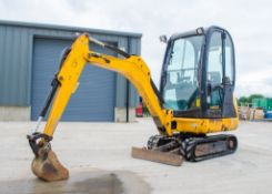 JCB 801.6 1.6 tonne rubber tracked mini excavator Year: 2013 S/N: 2071313 Recorded Hours: 2262