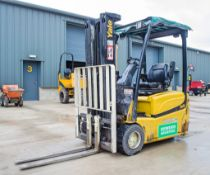 Yale ERP 18VT battery electric fork lift truck Year: 2013 S/N: 5445L Recorded Hours: c/w charger &