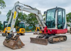 Takeuchi TB228 2.8 tonne rubber tracked excavator Year: 2015 S/N: 122804240 Recorded Hours: 3284
