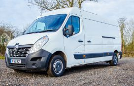 Renault Master Business DCI 135 LM35 diesel driven seat panel van Reg No: MF65 MDY Date of First