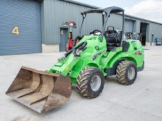 Avant 755i compact wheel loader Year: 2020 S/N: 100462 Recorded Hours: 174
