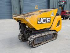 JCB HTD05 Dumpster 500 kg diesl driven hi tip rubber tracked walk behind dumper Year: 2018 S/N: