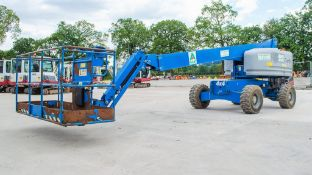 Genie S-45 diesel driven 45 ft boom lift access platform Year: 2014 S/N: 54514-18197 Recorded Hours: