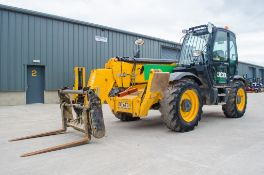JCB 535 - 140 14 metre telescopic handler Year: 2014 S/N: 2340370 Recorded Hours: 5134 c/w air con