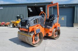 Hamm HD 12 double drum roller Year: 2014 S/N: 2004629 Recorded Hours: 1236