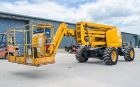 Genie Z45/25 diesel driven 45 ft boom lift access platform Year: 2001 S/N: 18365 Recorded Hours: