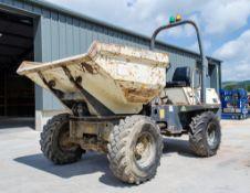 Benford Terex 3 tonne swivel skip dumper Year: 2006 S/N: E608FS371 Recorded Hours: 23 (Clock