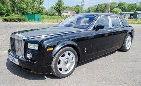 Rolls Royce Phantom VII 6.75 litre petrol 4 door saloon car Reg No: LT 08 ODA Date of Registration:
