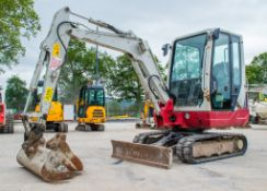 Takeuchi TB228 2.8 tonne rubber tracked excavator Year: 2015 S/N: 122804197 Recorded Hours: Not