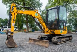 JCB 8025 ZTS 2.5 tonne rubber tracked mini excavator Year: 2013 S/N: 226048 Recorded Hours: 2540