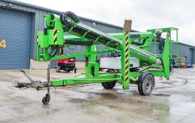 Nifty Lift 170SD battery electric / diesel driven fast tow boom lift Year: 1995 S/N: 17-3402HBE VD