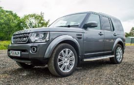 Land Rover Discovery 4 SE 3.0 TDV6 Commercial 4 wheel drive utility vehicle Reg No: PE 65 NJY Date