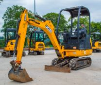 JCB 8014 CTS 1.5 tonne rubber tracked mini excavator Year: 2015 S/N: 2070521 Recorded Hours: 1454