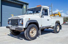 Landrover Defender 110 2.4 diesel hi capacity 4wd pick up Registration Number: MA08 VJF Date of