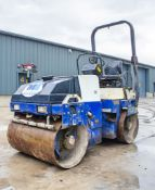 Dynapac CC122 diesel driven double drum roller Year: 2002 S/N: 60116757