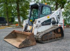 Bobcat T650 rubber tracked skid steer loader Year: 2015 S/N: B2K211028 Recorded Hours: 1809 c/w