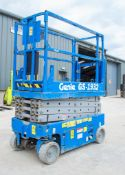 Genie GS 1932 battery electric scissor lift Year: 2007 Recorded Hours: 285 08830040