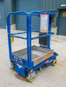 Power Tower Nano push along battery electric personnel lift