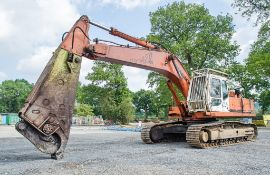 Daewoo SL400LC-III 40 tonne steel tracked excavator Year: 1997 S/N: 0260 c/w steel shear dipper arm