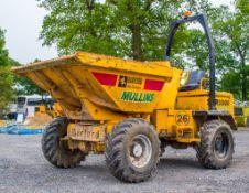 Barford SXR3000 3 tonne swivel skip dumper
