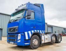 Volvo FH 500 6 x 2 mid lift tractor unit Reg No: FW 10 AZF Date of Registartion: 29/07/2010