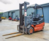 Lansing Linde E20 2 tonne battery electric fork lift truck Year: 1995 S/N: 1011720 Recorded Hours: