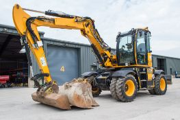 JCB Hydradig 110 W 11 tonne wheeled excavator Year: 2017 S/N: JCBW11CFCH2496178 Recorded Hours: