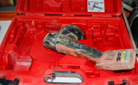 Hilti AG125-A36 36v cordless 125mm angle grinder c/w carry case EXP2616 ** No battery or charger **