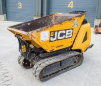 JCB HTD-5 Dumpster diesel driven tracked hi-tip walk behind dumper LUS