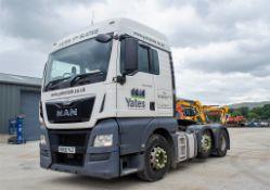 MAN TGX 26.500 Euro VI 6x2 tractor unit Registration Number: MX66 YLZ Date of Regisration: 10/02/