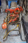 Ridgid 1233 110v pipe threader A524824
