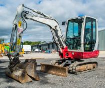 Takeuchi TB228 2.8 tonne rubber tracked excavator Year: 2015 S/N: 804198 Recorded Hours: 3567 1953