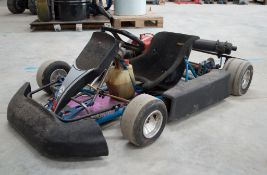 Comer W-60 2 - stroke petrol driven go-kart **No VAT on hammer price, but VAT will be charged on
