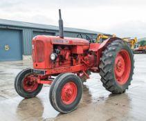 Nuffield 460 2 wheel drive diesel driven tractor Reg Number: PTB 287C S/N: 60B 1500 57042