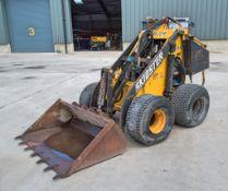 Skidster M10X petrol driven stand up skid steer loader S/N: 801127L
