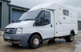 Ford Transit 100 T350M 2402cc diesel box van Registration number: BU07 FLR Date of registration: