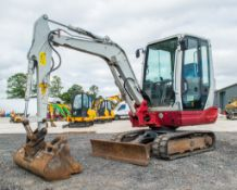 Takeuchi TB228 2.8 tonne rubber tracked excavator Year: 2015 S/N: 804239 Recorded Hours: New