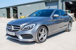 Mercedes Benz C220 AMG Line 2143cc diesel 4 door saloon car Registration number: KS66 PKV Date of