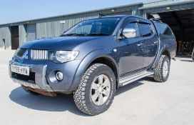 Mitsubishi L200 Warrior DI-D 2477cc diesel 4 door pick up Registration number: YY59 HYW Date of