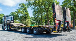 Andover SFLT 44 tri axle step frame low loader trailer Year: 2014 S/N: E0850005 Ministery Number: